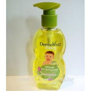 Шампунь детский с оливковым маслом Vatika DERMOVIVA (DABUR), 200 мл