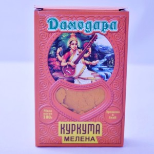 "Куркума ""Дамодара"", 100 г (ИНДИЯ)"