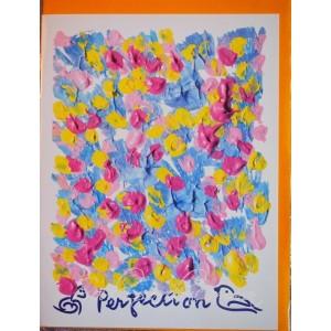 Открытка в конверте в стиле Джарна-Кала - Perfection / Совершенство, автор Шри Чинмой (Индия),А5