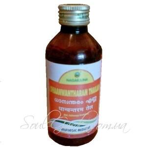 Массажное масло для укрепления мышц и костей DHANWANTHARAM THAILAM / Дханвантарам Тайлам (Nag Arjuna) 200мл