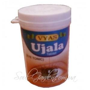 Уджала в таблетках -тоник для глаз, Ujala eye tonic, (VYAS PHARMACY) 100 таб.