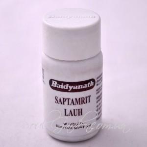 Саптамрит Лаух / Saptamrit lauh (Baidyanath) 40 таб.