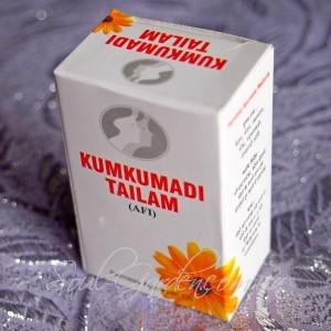 Масло кумкумади омолаживающее, kumkumadi tailam 12 ml(Vyas)