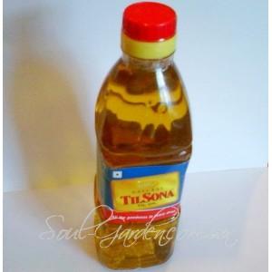 МАСЛО КУНЖУТНОЕ,100%-кунжутное масло высшего качества(TILL SONA,Индия)200 мл,1000 мл