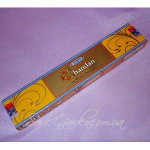 Благовония Сатья Натурал Сандал / Satya Natural Chandan (Satya), 15 гр