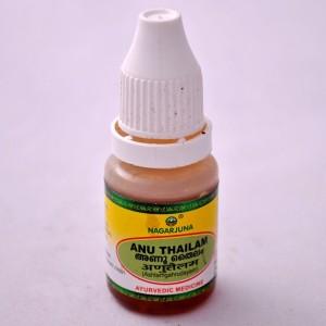 Ану таил / Anu tailam - масло-капли для носа, Нагарджуна, Индия,10 мл