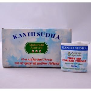 Кантх судха, Kanth Sudha для горла( Maharishi ayurveda) 25 табл.