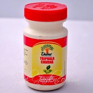 Трифала Чурна(в порошке)/ TRIPHALA CHURNA (DABUR)500 гр