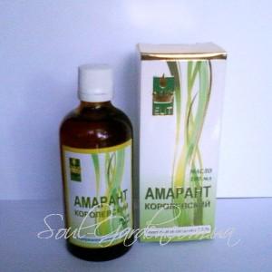 МАСЛО АМАРАНТОВОЕ / AMARANTH OIL высшего качества (Украина)100мл