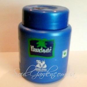 Кокосовое масло холодного отжима, Coconut oil Parachute (Marico,Индия) 100 ml