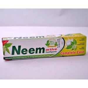 Аюрведическая зубная паста Ним Актив / Neem Active Toothpaste (Индия), 200 гр